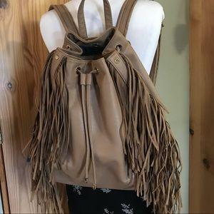 Deux Lux Camel Fringe Backpack 🎒